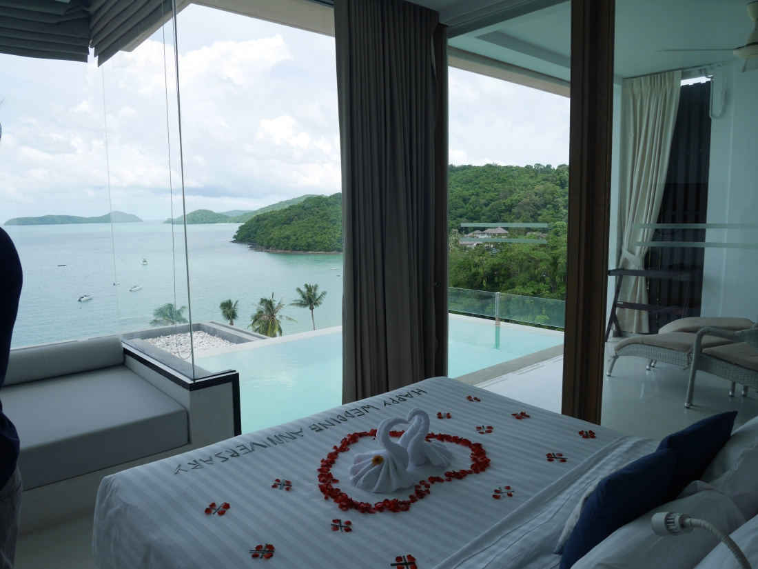 Phuket villa villas ocean view beach resorts private beach Thailand