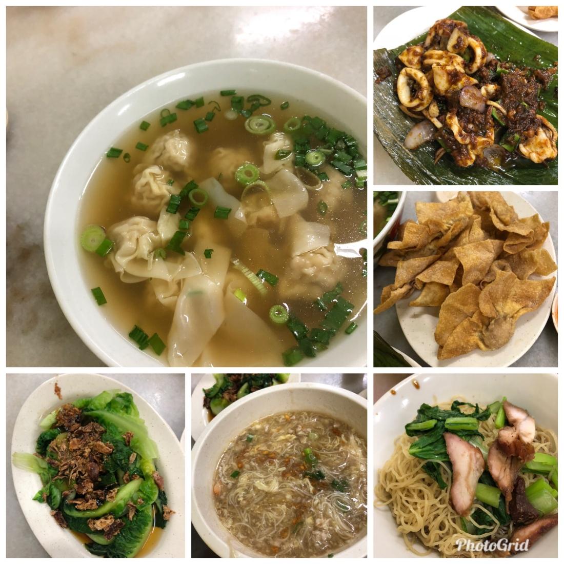 Penang food wanton mee good food